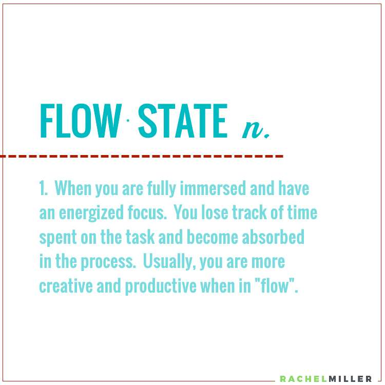 Are you in a flow state when it comes to content creation? #RachelMiller #ContentWriting #Outsourcing
