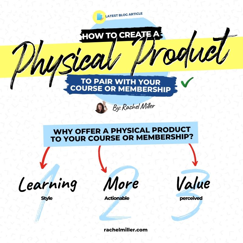 Why should I add a physical product to my course
